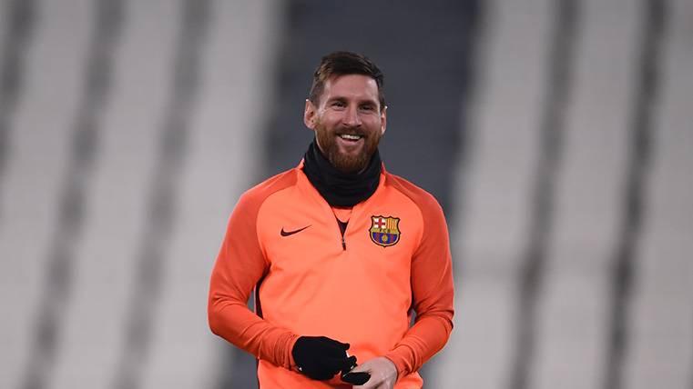 La prueba de que Leo Messi se tomó bien su suplencia