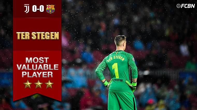 Ter Stegen vuelve a salvar al Barcelona con sus paradas