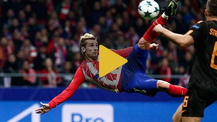 Partidazo de Griezmann para reconciliarse con el Atlético