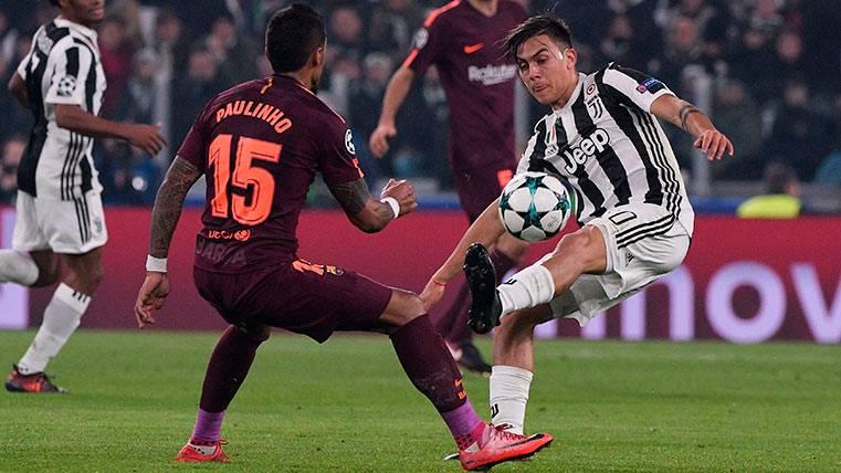 El Barcelona hace probar a la Juventus su propia medicina