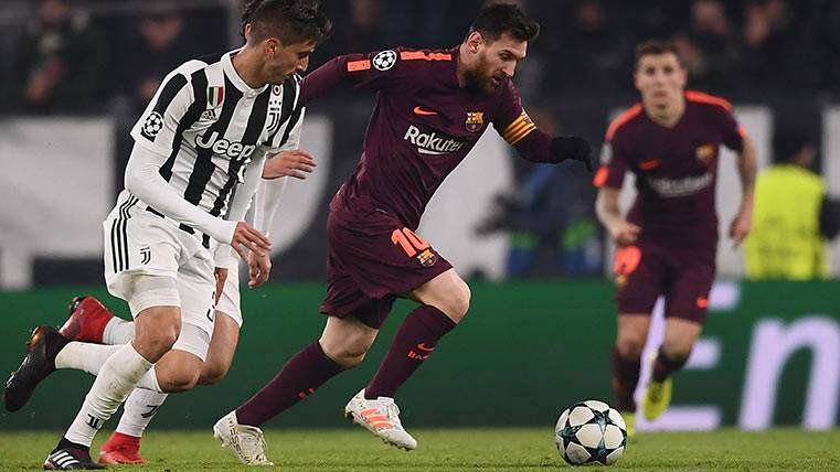 Leo Messi calienta motores en Turín para visitar Mestalla