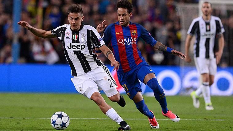 Paulo Dybala y Neymar, ¿juntos en la delantera del Real Madrid?