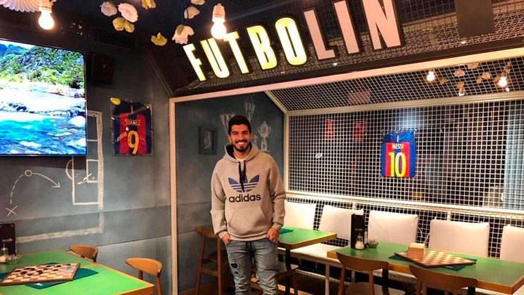 ¿Cómo celebró Luis Suárez el pase del Barça en Champions?