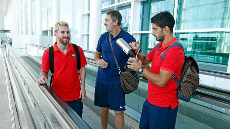 Accidente de uno de los mejores amigos de Messi en el Barça