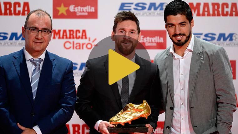 Así ha vivido Leo Messi el día de la entrega de la Bota de Oro