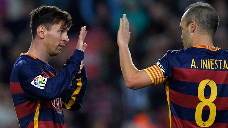 Leo Messi y Andrés Iniesta, los 'fichajes' más importantes