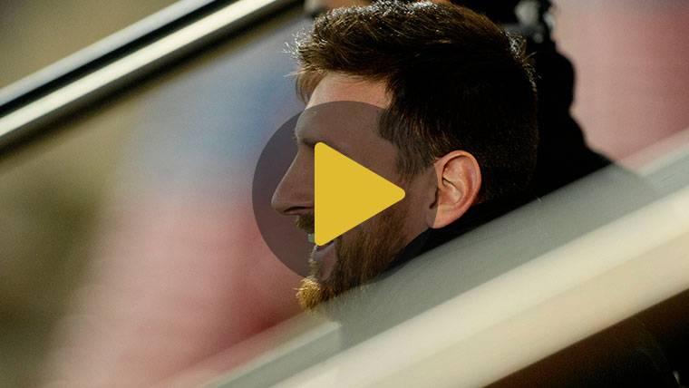 Las primeras palabras de Leo Messi tras renovar con el Barça