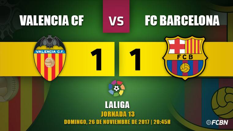 Jordi Alba salva al Barça de un despropósito arbitral en Mestalla