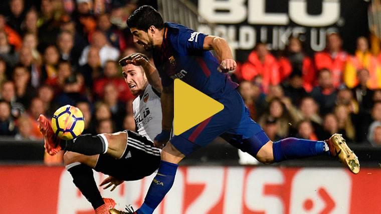 Vídeo resumen: Valencia 1 FC Barcelona 1 (LaLiga J13)