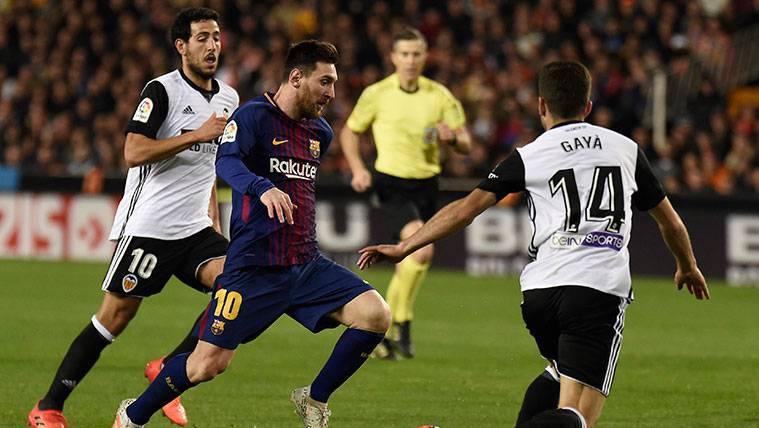 Gayà preguntó a Busquets cuánto había entrado el gol