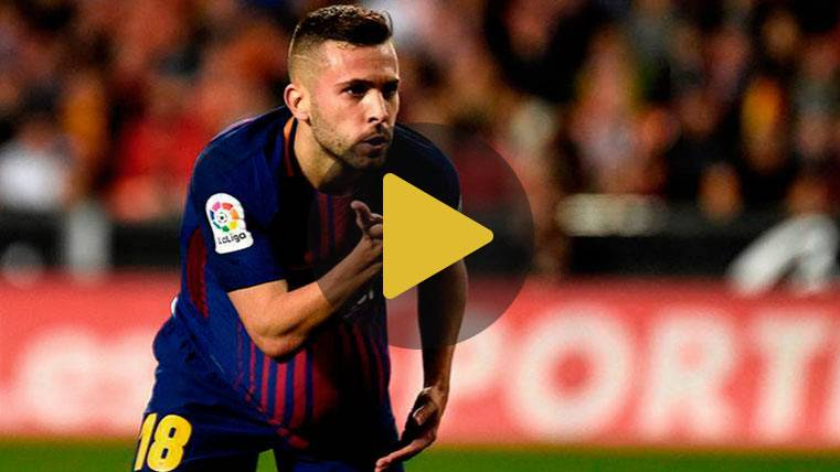 Messi y Alba conectaron para dar un punto vital al Barcelona