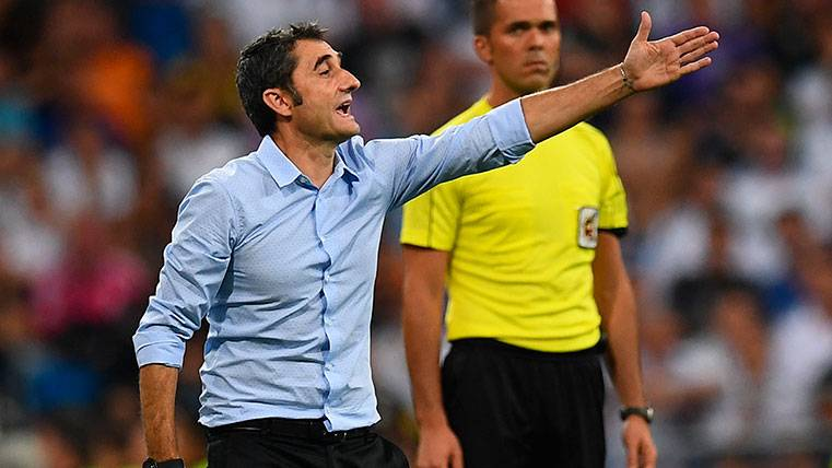 Valverde echó en falta a un jugador contra el Valencia