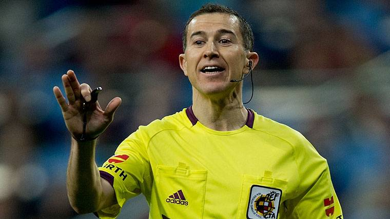 El Comité no 'castigará' al árbitro del Valencia-Barcelona