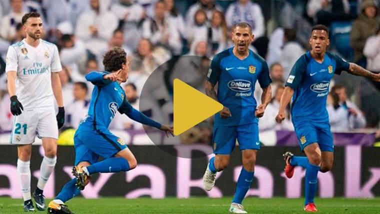 Mayoral sentencia un real susto del Madrid en el Bernabéu