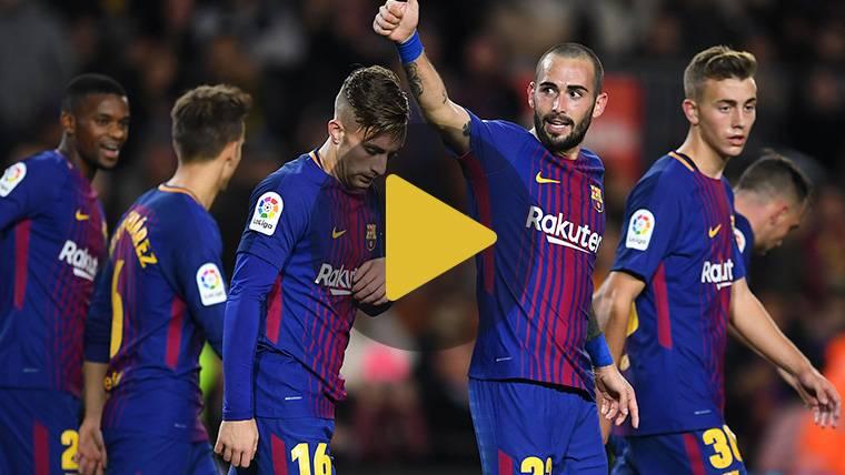 Vídeo resumen: FC Barcelona 5 Real Murcia 0 (Copa del Rey)