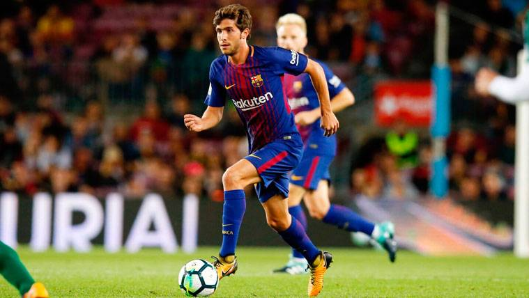 Sergi Roberto vuelve a lo grande: Capitanía y asistencia en Copa