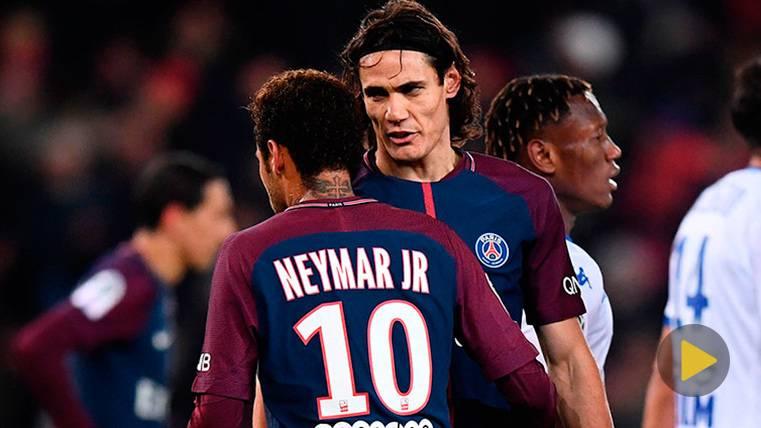 IRÓNICO: Cavani vuelve a pedir un penalti a Neymar... ¡Y lo falla!