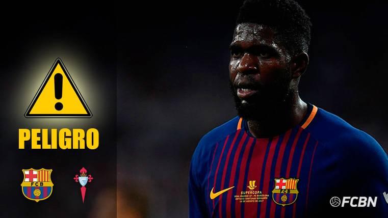ALARMA: El Barça debe vigilar con el apercibido Samuel Umtiti