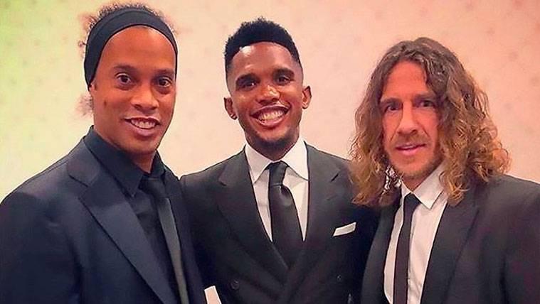 Ronaldinho altera a los fans del Barça con una foto histórica
