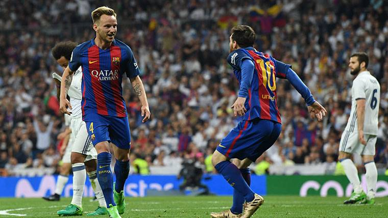 La reacción de Rakitic al saber que se enfrentará a Messi