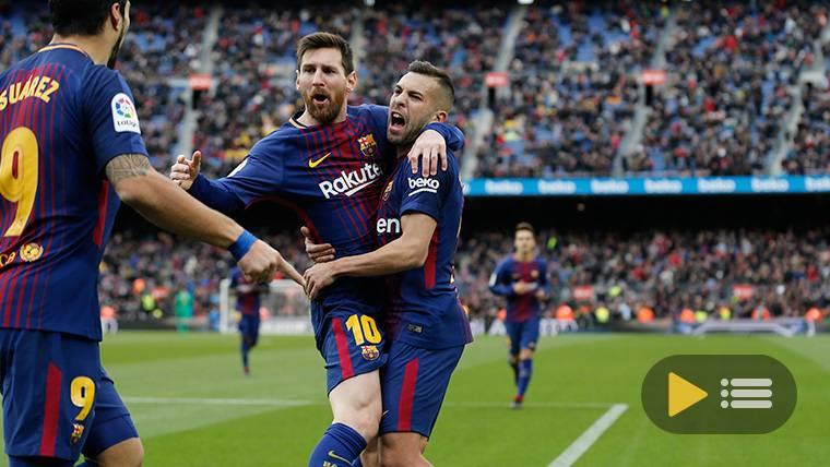 Vídeo resumen: Barcelona 2 Celta de Vigo 2 (LaLiga J14)