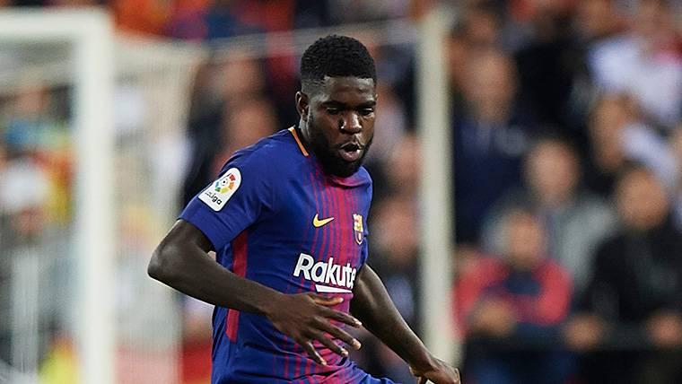 La lesión de Umtiti podría llevar al Barça a fichar central en enero