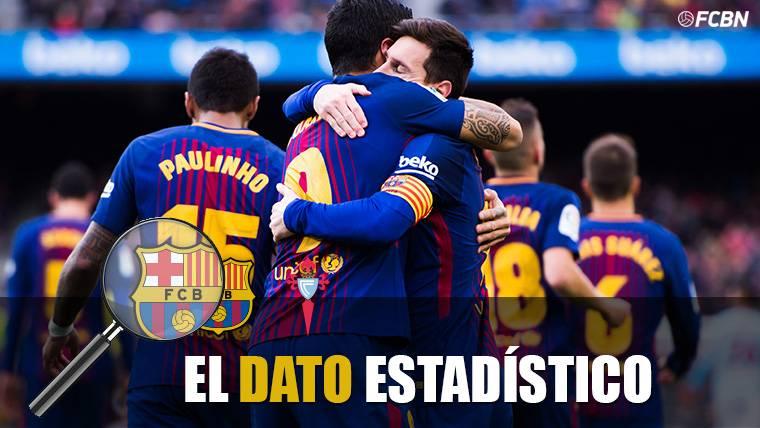 Leo Messi, celebrando el gol marcado contra el Celta de Vigo