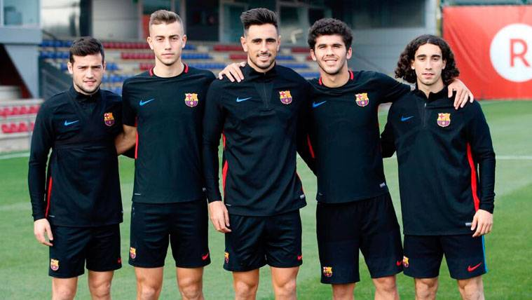 Los canteranos del Barça que podrían estar frente al Sporting