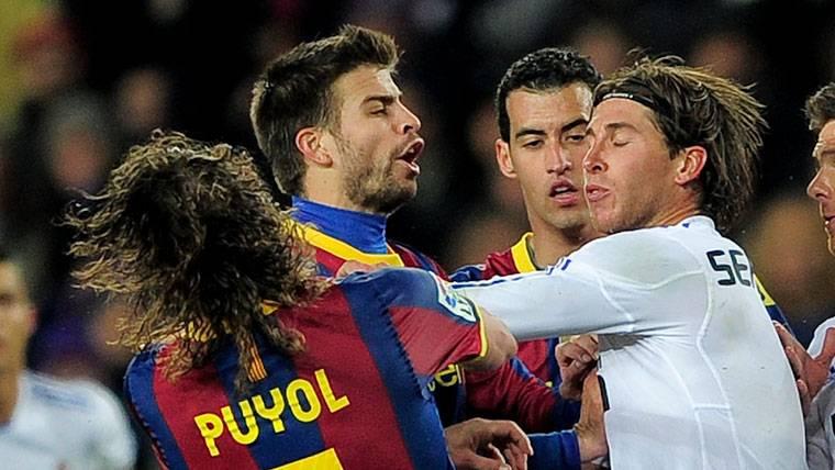 El dardo de Carles Puyol a Sergio Ramos por sus expulsiones