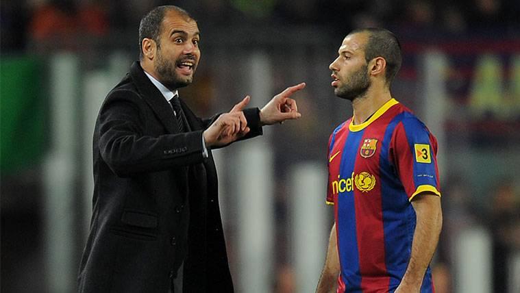 Mascherano cuenta cómo le recibió Guardiola en el Barça