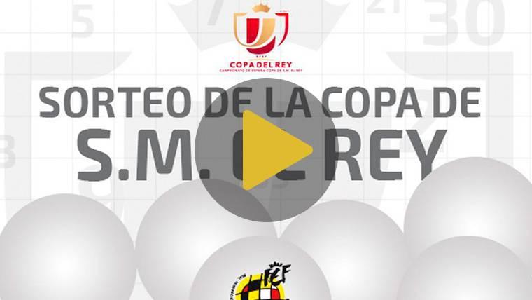 EN DIRECTO: Sigue el sorteo de semifinales de Copa del Rey