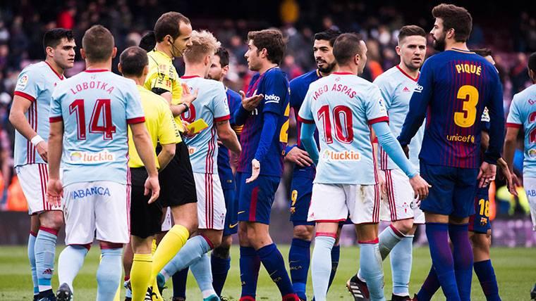 El Barça quiere 'vendetta' ante el Celta por el empate en Liga