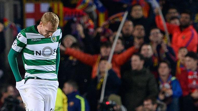 La pesadilla de Mathieu: eliminación y gol en propia meta