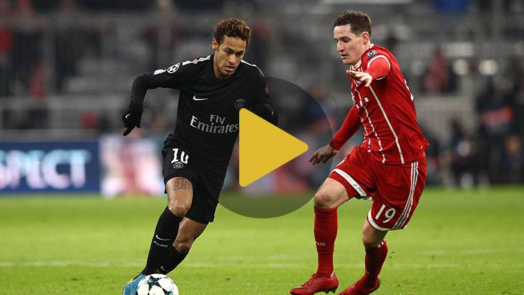 El Bayern golea a un PSG que suma su segunda derrota