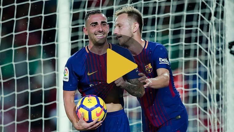 Paco Alcácer vuelve a 'mojar' y se estrena en la Champions League