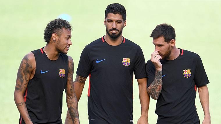 Neymar, Messi y Luis Suárez, juntos en un nuevo proyecto