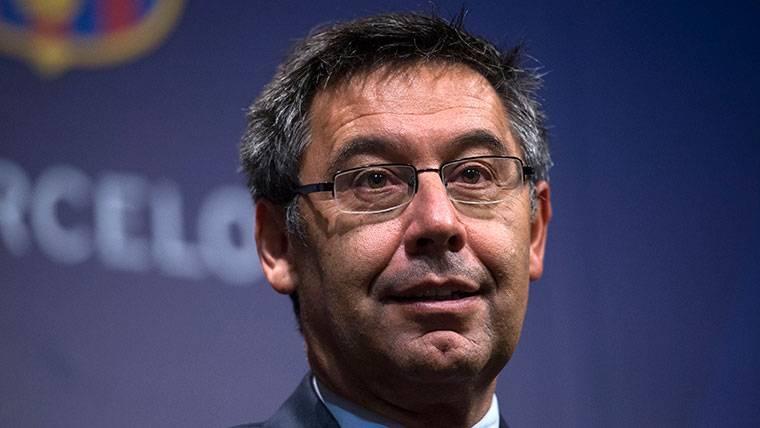 Josep Maris Bartomeu, presidente del FC Barcelona