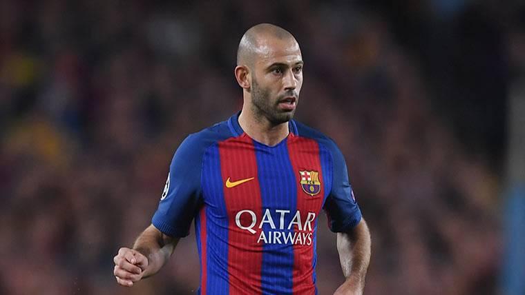 Mascherano no quiere irse del Barça por la puerta de atrás