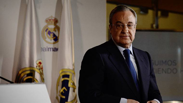 Florentino Pérez, en una imagen de archivo