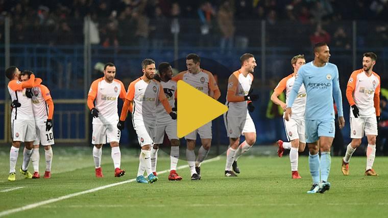 El Shakhtar destroza la brillante racha del Manchester City