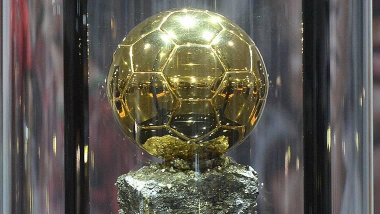 Balón de Oro, en una imagen de archivo