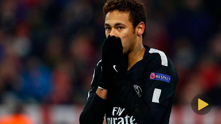 ¡Lanzan billetes de 500 euros a Neymar con su propia cara!
