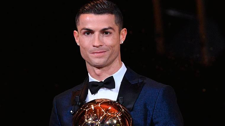Cristiano Ronaldo, con su quinto Balón de Oro