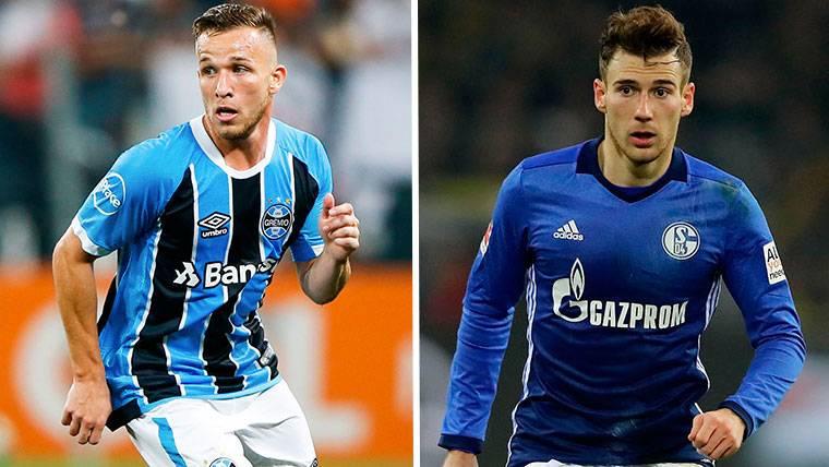 El FC Barcelona debe decidirse entre Arthur y Goretzka
