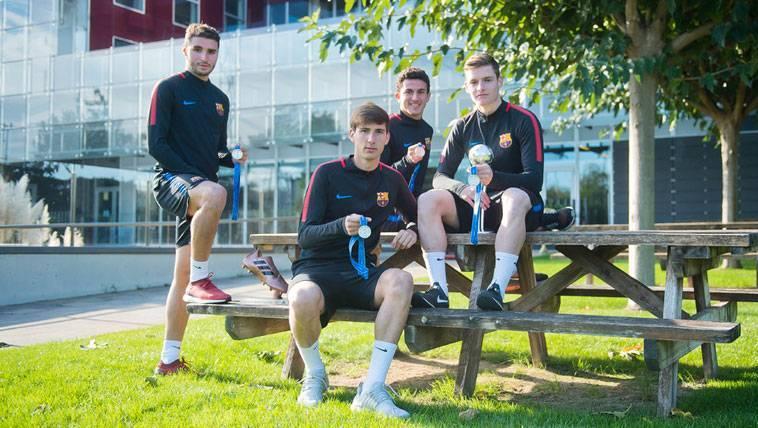 El Barça aún no ha cerrado el futuro de los jugadores Sub17