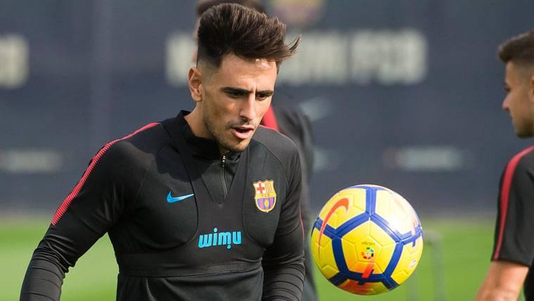 David Costas será el tercer central del Barça en Villarreal