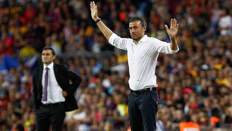 Gerard elogia a Valverde... Con un 'palo' para Luis Enrique