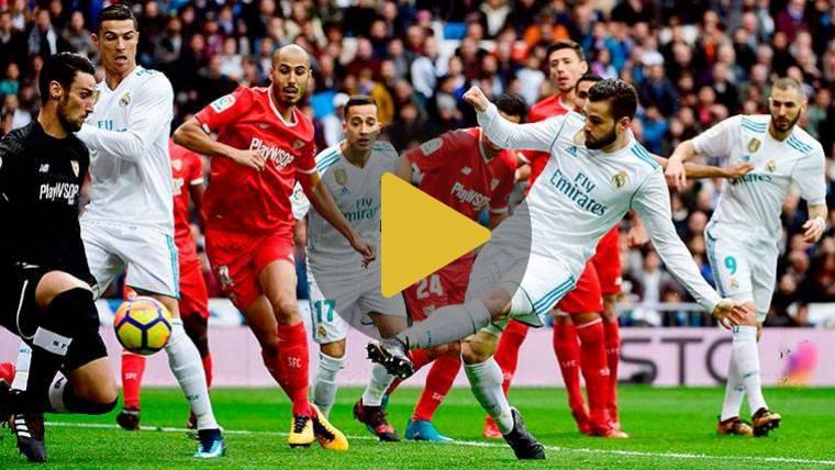 Un esperpento defensivo del Sevilla resucita a un gran Madrid