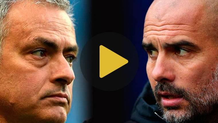 Mourinho ataca a Guardiola por segunda vez en una semana