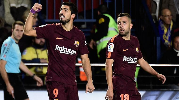 KILLER: Luis Suárez vuelve a ser el de los goles importantes